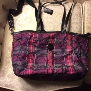 Coach handbag, shoulder bag purse